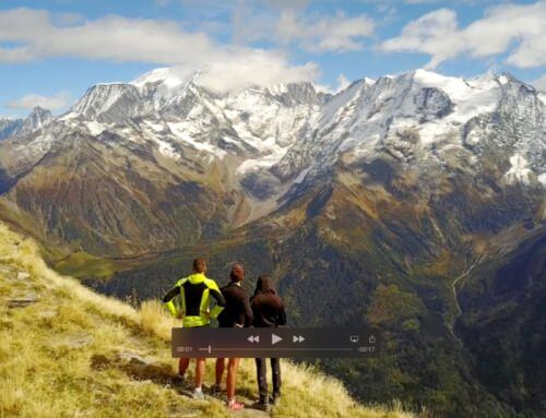 Video 4k : drone Mont Blanc / Mont Joly