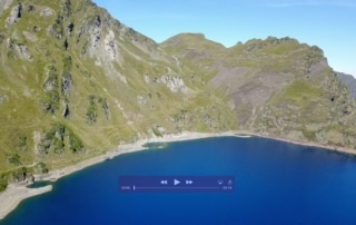 video lac bleu pyrenees drone maris pro