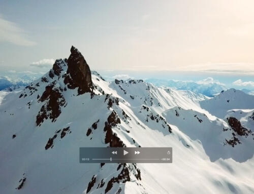 Video drone de la Pierra Menta, Massif du Beaufortain, Savoie